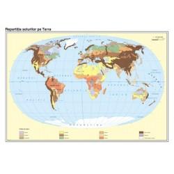 Harta Pamantul. Distributia spatiala a solurilor