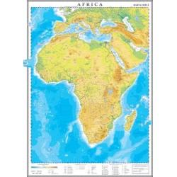 Harta fizica a Africii