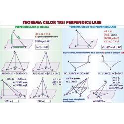 Teorema celor trei perpendiculare/ Sfera circumscrisa corpurilor de rotatie