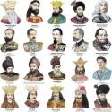 Portrete Voievozi, domni si regi romani