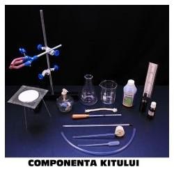 Kit de masurarea temperaturii, dilatarii pentru gimnaziu