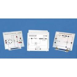 Set de circuite de electricitate, pentru studiul diodelor si montajelor de redresare