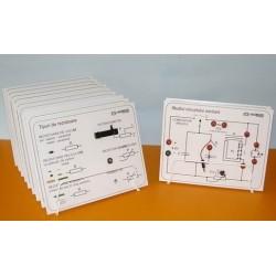 Set de circuite de electricitate, pentru studiul curentului alternativ