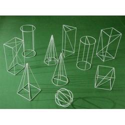Set corpuri geometrice din sarma