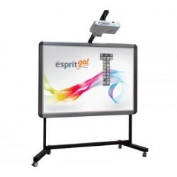 "Pachet Tabla interactiva 2x3 Esprit Dual Touch, 174×123 cm/80""+ Videoproiector short throw + Stand mobil cu suport proiector"