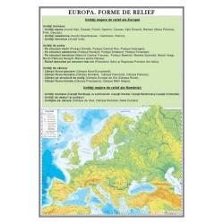 Europa. Forme de relief