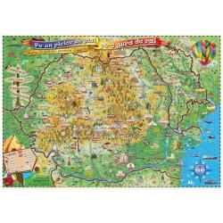 Harta Romaniei pentru copii