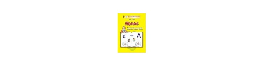 Planse Alfabetul-recunoasterea sunetelor si invatarea literelor