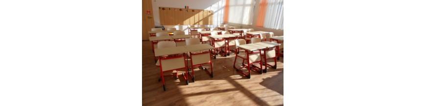 Mobilier scolar individual pentru liceu (set)