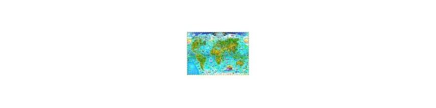 Harti geografice pentru copii